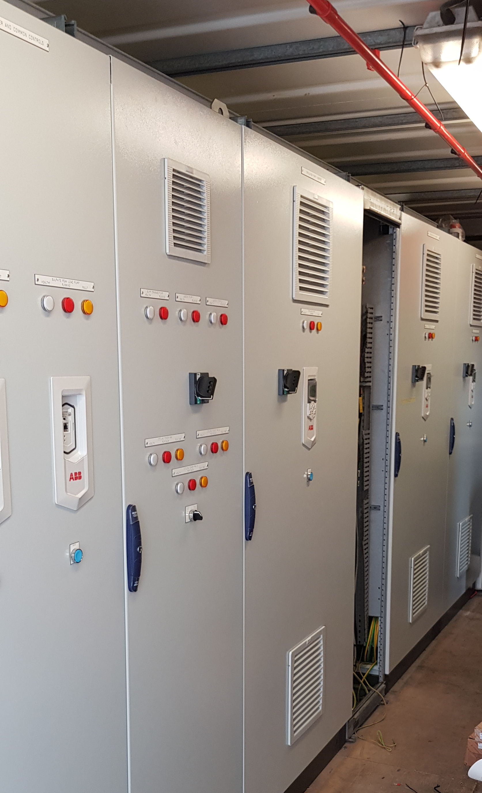 our uk company and team are widely experienced in all aspects of commercial  and industrial electrical installation from plant machinery to general  power to